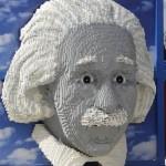 Massive LEGO Albert Einstein [pics]