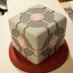 Portal Companion Cube Cake [pic]