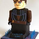 Anakin Skywalker LEGO Star Wars Cake [pic]