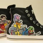 Custom Painted Mass Effect Shoes [pics]