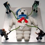 Ghostbusters Stay Puft Marshmallow Man Cake [pics]