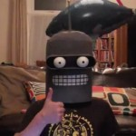 Cosplay Bender Proposes in Binary [pic + video]