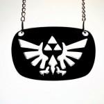 Legend of Zelda Hylian Crest Laser Cut Necklace [pic]