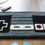 NES Controller Rug [pic]