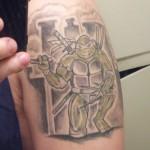 Teenage Mutant Ninja Turtles Arm Tattoo [pic]