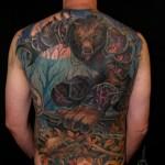 Amazing World of Warcraft Full Back Tattoo [pic]