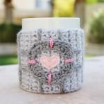 Companion Cube Coffee Mug Cozy [pic]