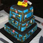 Pac-Man Wedding Cake [pic]