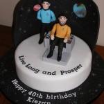 Star Trek Live Long and Prosper Birthday Cake [pic]