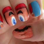 Super Mario Fingernail Art [pic]