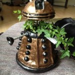 Dalek Planter is Perfect for Geeky Green Thumbs [pic]