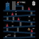 Doctor Who and Donkey Kong Mash-Up T-Shirt [pic]