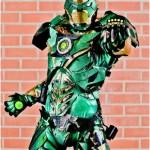 Iron Man + Green Lantern = Iron Lantern Cosplay [pic]