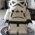 LEGO Stormtrooper Cake [pic]