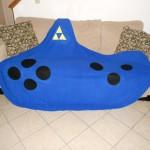 Legend of Zelda Ocarina Fleece Blanket [pic]