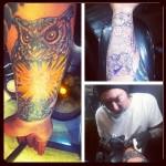 Legend of Zelda Owl Arm Tattoo [pic]