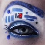 Amazing R2-D2 Eye Makeup [pic]