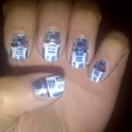 R2-D2 Fingernail Art [pic]