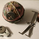 How to Make Star Wars Ships from Floppy Disk Parts [pic]