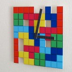 Tetris Wall Clock [pic]