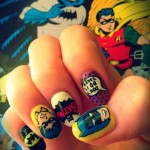 60's Batman Fingernail Art [pic]