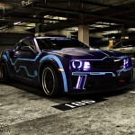 Custom Tron Drag Racing Camaro [pic]