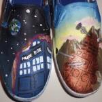 Fan Made Doctor Who Shoes [pics]
