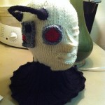 Amazing Knitted Borg Hat [pics]