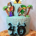 Fantastic Legend of Zelda: Wind Waker Birthday Cake [pic]