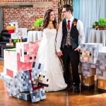 Amazing Minecraft Wedding [pics]