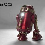 R2-D2 in Iron Man Cosplay [pic]