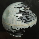 The Death Star Carved from a Ping Pong Ball [pic]