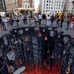 Mind Blowing Dark Knight Rises 3D Street Art [pic]