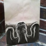 Weeping Angel Lunch Bag Art [pic]