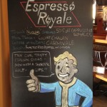 Fallout Inspired Coffee Sign [pic]