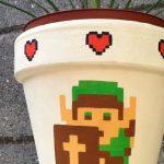 Legend of Zelda Flower Pot [pics]