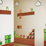 Super Mario Bros Wall Graphics [pic]