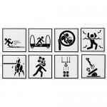 Portal Warning Signs Coasters [pic]