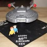 Awesome Star Trek: Enterprise Birthday Cake [pic]