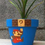 Super Mario Bros Themed Flower Pot [pic]