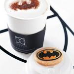 Batman Cappuccino and Batcookie [pic]