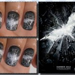 The Dark Knight Rises Fingernail Art [pic]