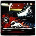Amazing Custom Batman Dark Knight Rises Converse Shoes [pic]