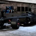 Mind Blowing 3D Concept F1 Batmobile Tumbler Race Car [pics]