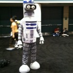 Futurama's Bender Cosplaying as R2-D2 [pic]