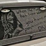 Dark Knight Rises' Bane Drawn on a Dirty Truck [pic]