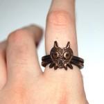 Bronze Legend of Zelda Majora's Mask Ring [pic]