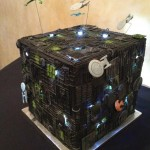 Mind Blowing Star Trek Borg Cube Wedding Cake [pic]