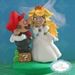 Super Mario and Princess Peach Cake Topper [pic]
