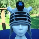 Dalek Earflap Knitted Hat [pic]